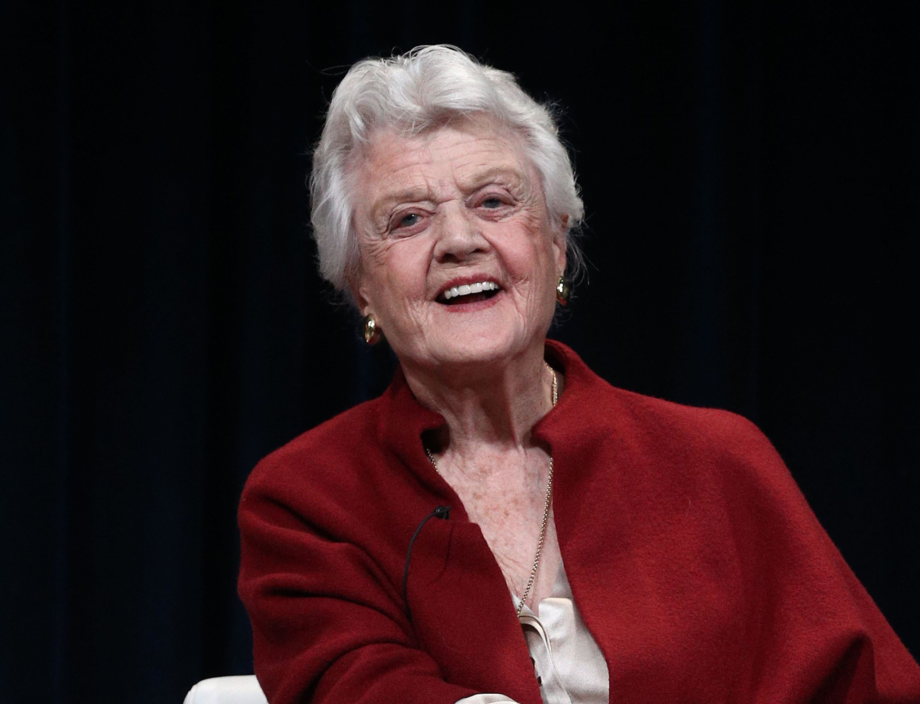 Actress Angela Lansbury speaks at the PBS segment of the 2018 Winter Television Critics Association Press Tour at The Langham Huntington, Pasadena on January 16, 2018 | Photo: Getty Images