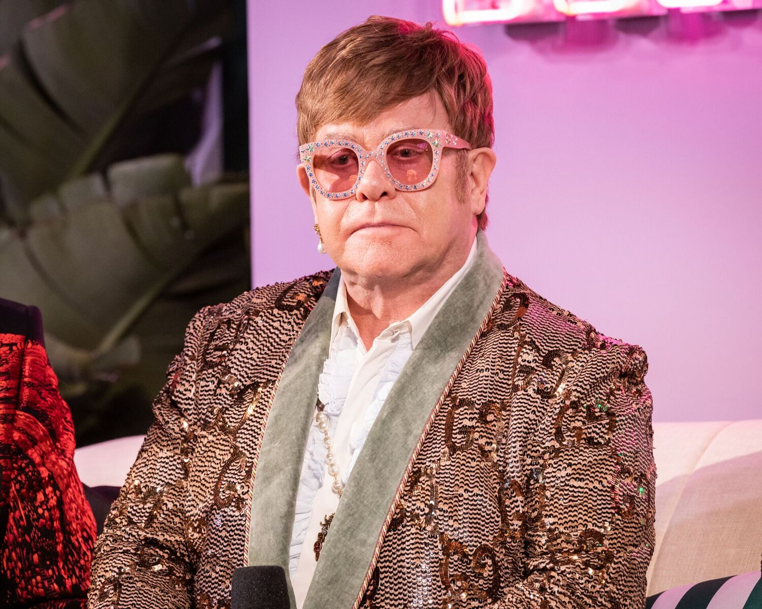Elton John attends IMDb LIVE At The Elton John AIDS Foundation Academy Awards® Viewing Party on February 24, 2019 in Los Angeles, California | Photo: Getty Images