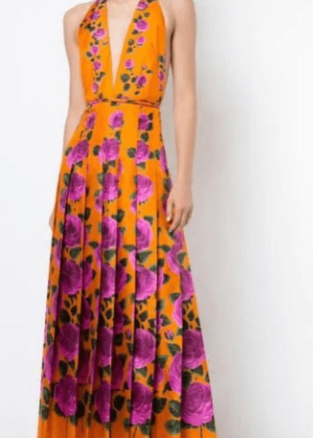 Amal Clooney's Gucci Dress.   Source: Instagram/amalsgotstyle
