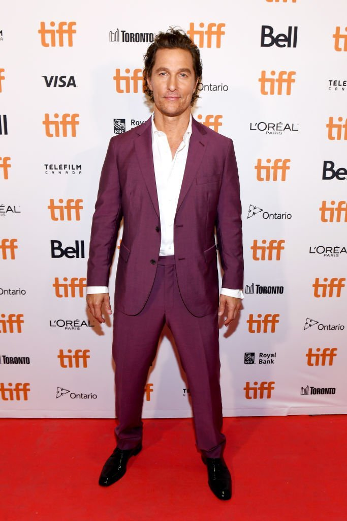 Matthew McConaughey at Ryerson Theatre on September 7, 2018 in Toronto, Canada | Source: Getty Images