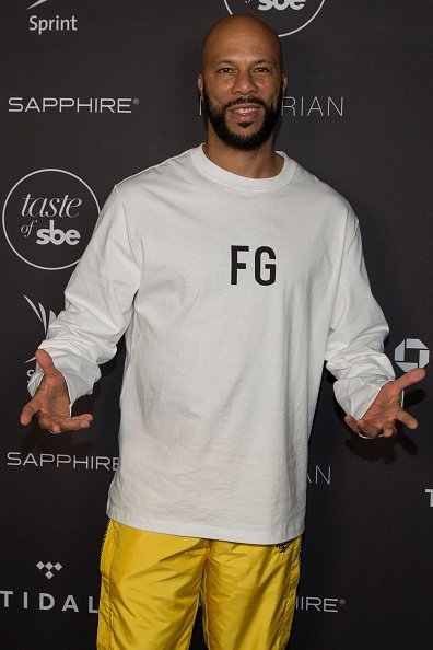 Common at the 3rd Annual Taste of sbe in West Hollywood, California.  Photo: Getty Images.
