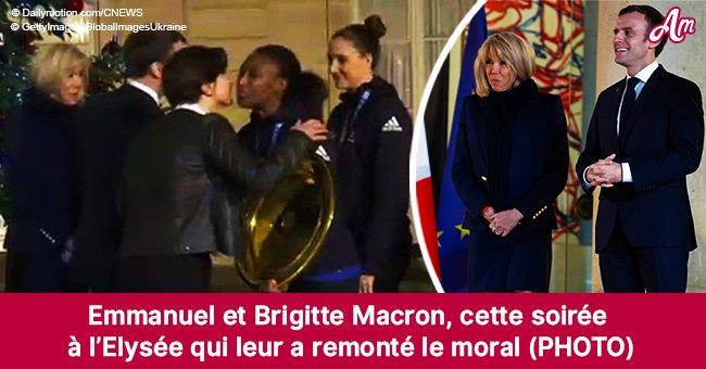 Emmanuel et Brigitte Macron: élégants, ils célèbrent une victoire qui leur remonte le moral