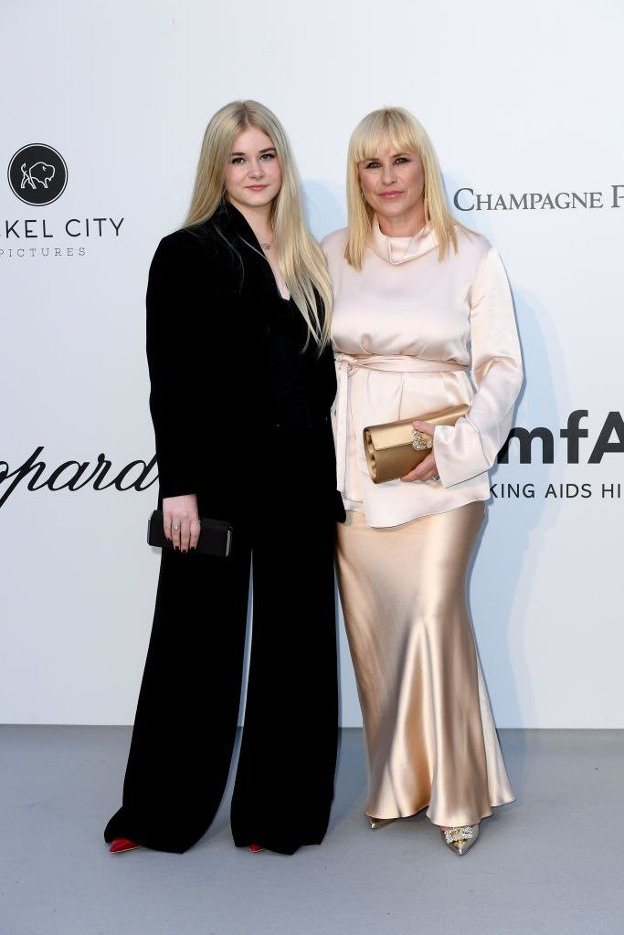 Harlow Olivia Calliope Jane, Patricia Arquette attends the amfAR Cannes Gala 2019 at Hotel du Cap-Eden-Roc on May 23, 2019   Photo: Getty Images