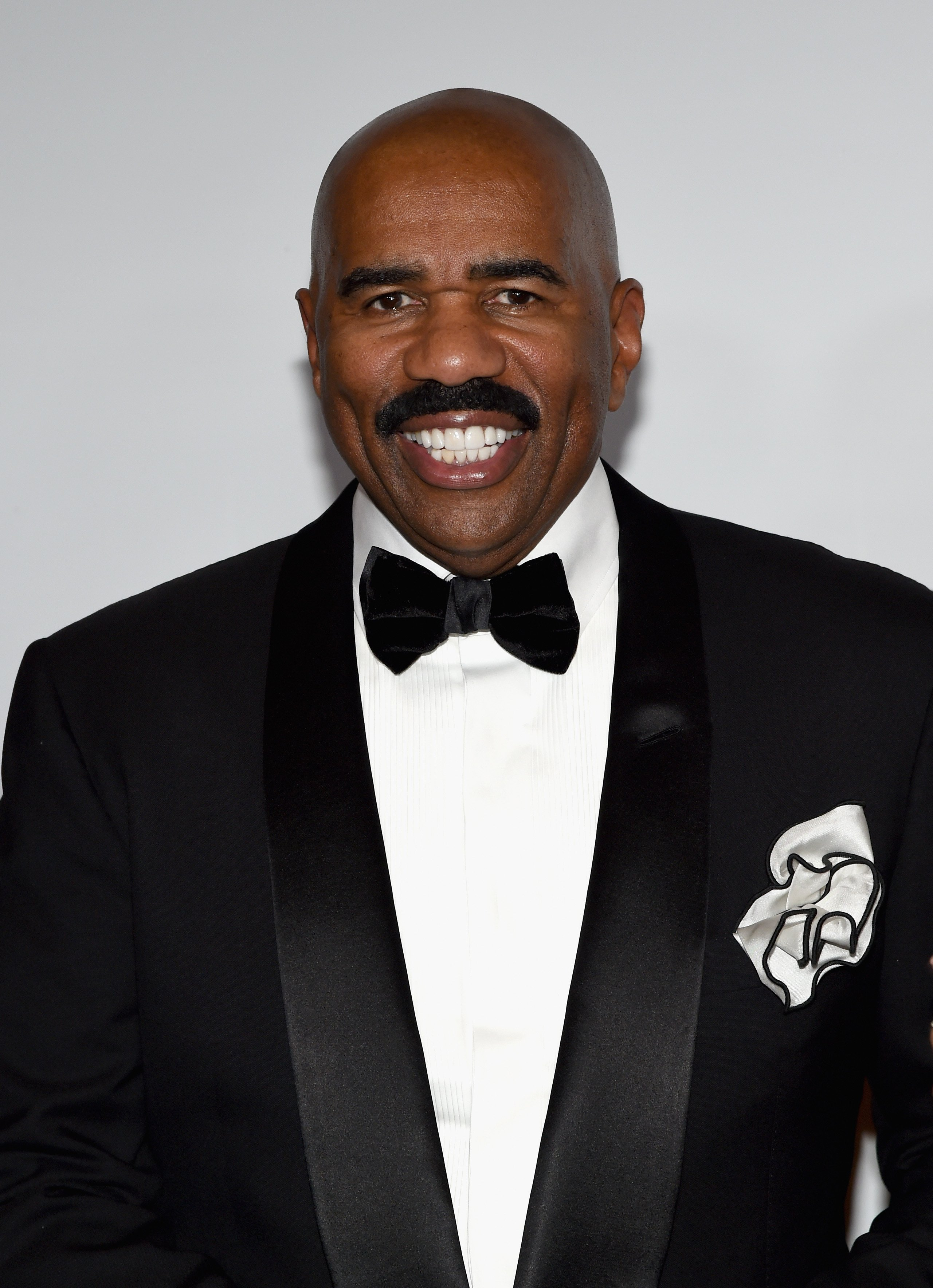 Steve Harvey at the 2015 Miss Universe Pageant at Planet Hollywood Resort & Casino on December 20, 2015 in Las Vegas, Nevada.| Source: Getty Images