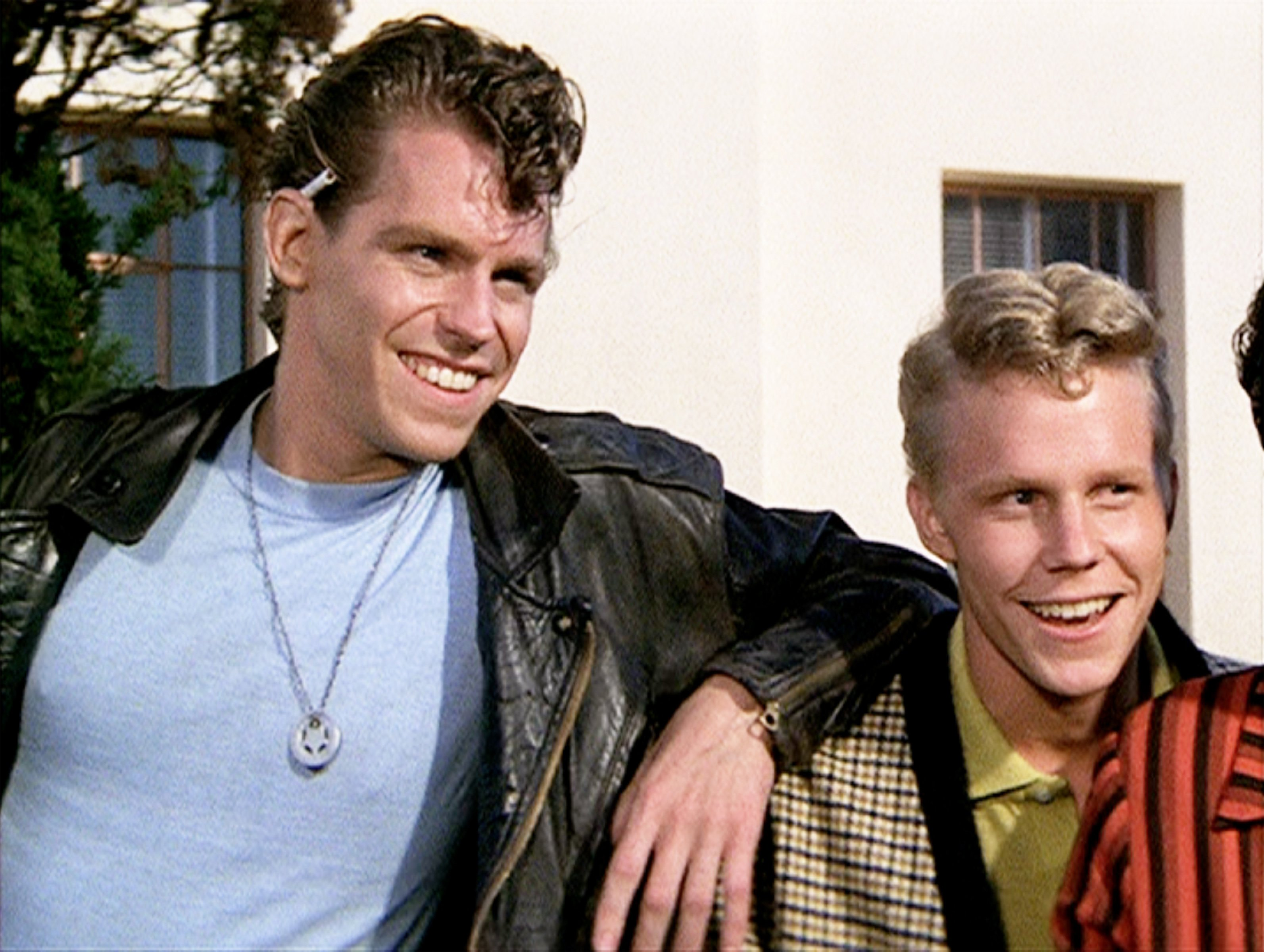"""From left Jeff Conaway as Kenickie and Kelly Ward as Putzie at theinitial theatrical release of the film, """"Grease,"""" on June 16, 1978 