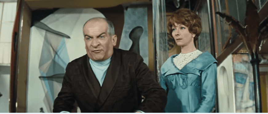 Louis de Funès : Oscar (1967) - Ta fille a un amant. | Photo: Youtube/ Le Monde des Avengers