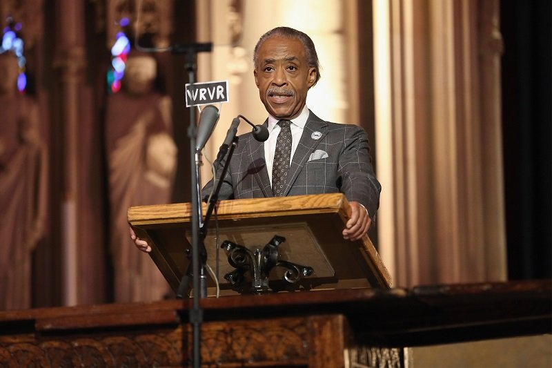 Reverend Al Sharpton on September 17, 2017 in New York City | Photo: Getty Images
