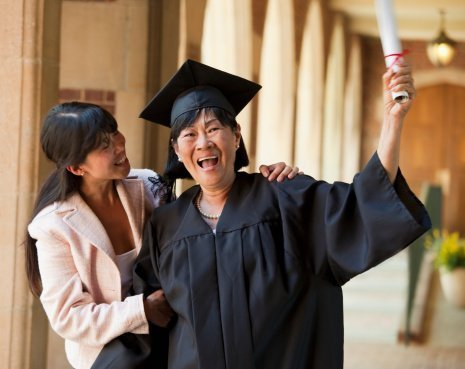 Mother and daughter celebrating graduation | Photo: Getty Images