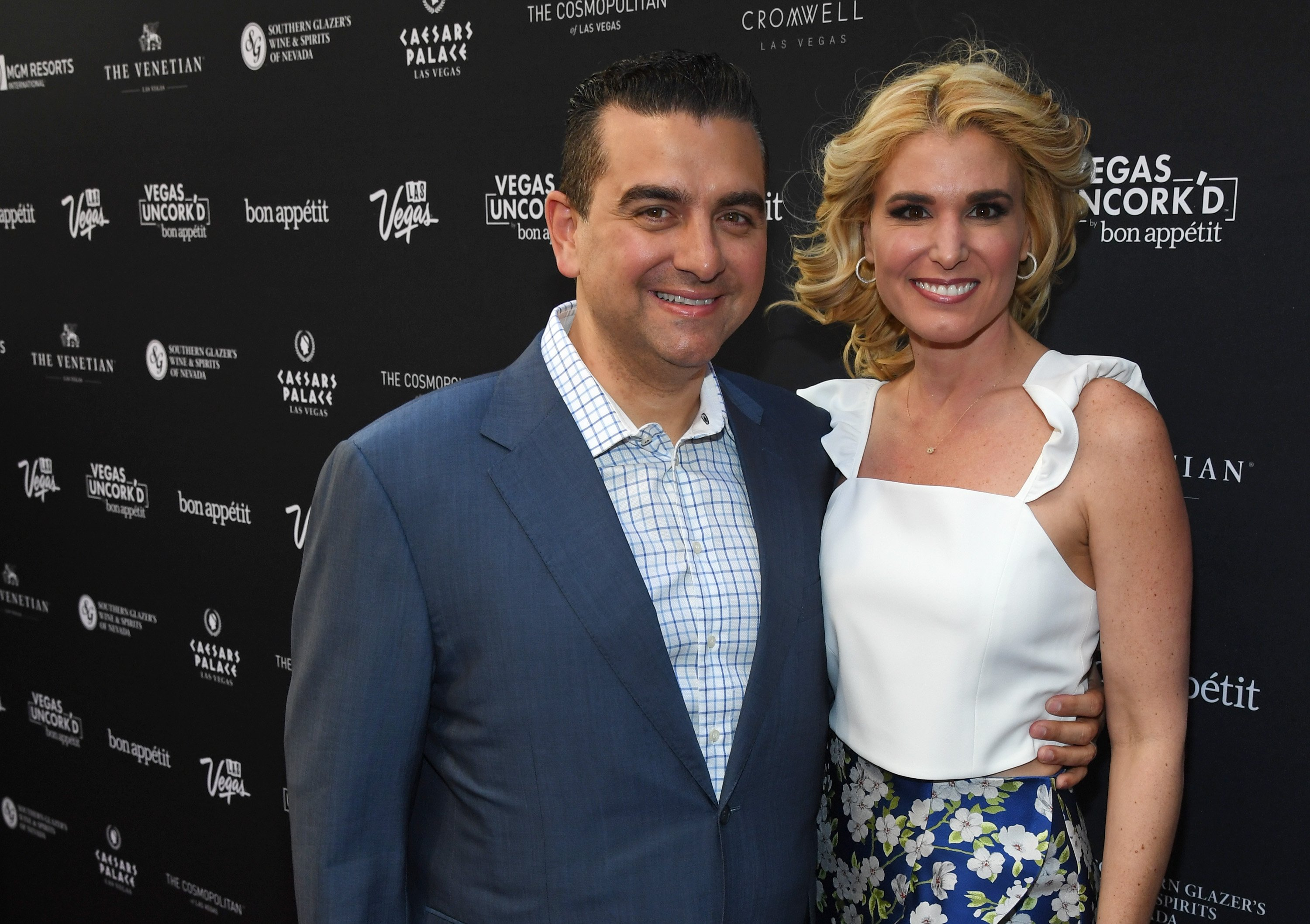 Buddy Valastro and Lisa Valastro attend the 12th annual Vegas Uncork'd by Bon Appetit Grand Tasting event. | Source: Getty Images