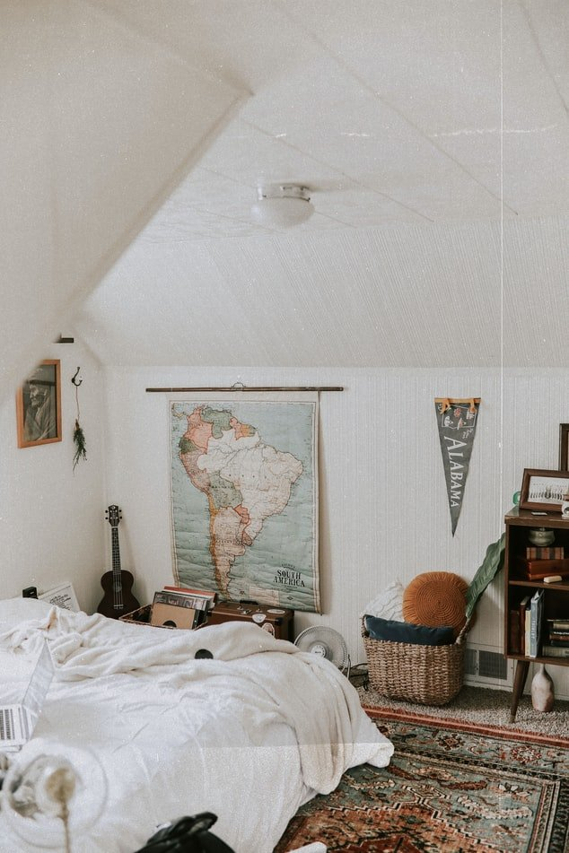 Cleaning up his room   Source: Unsplash