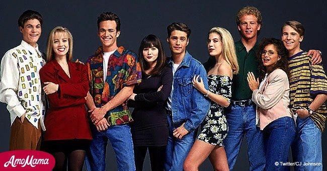 Beloved 'Beverly Hills, 90210' star tries to stay optimistic after receiving tumor test results