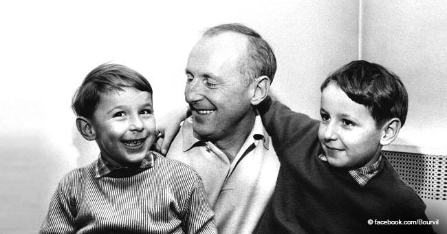 Bourvil : La vie familiale décrite par ses deux fils Dominique et Philippe