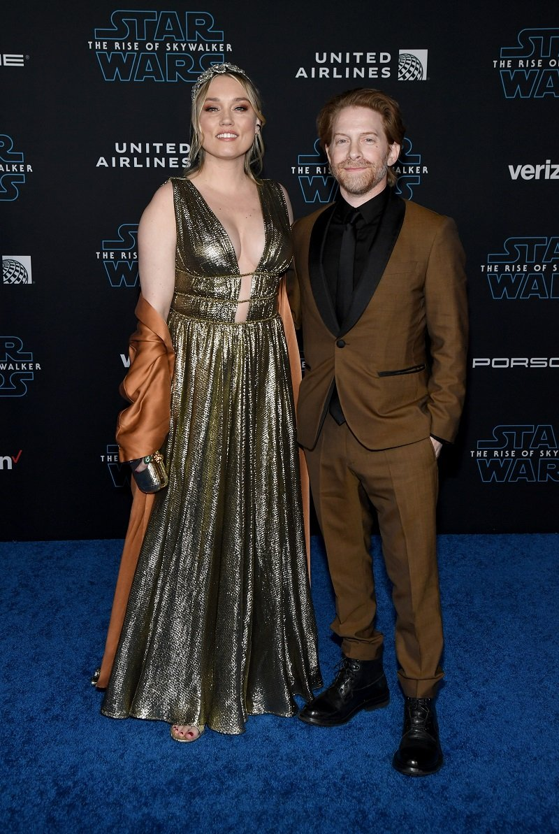 Clare Grant and Seth Green on December 16, 2019 in Hollywood, California | Photo: Getty Images