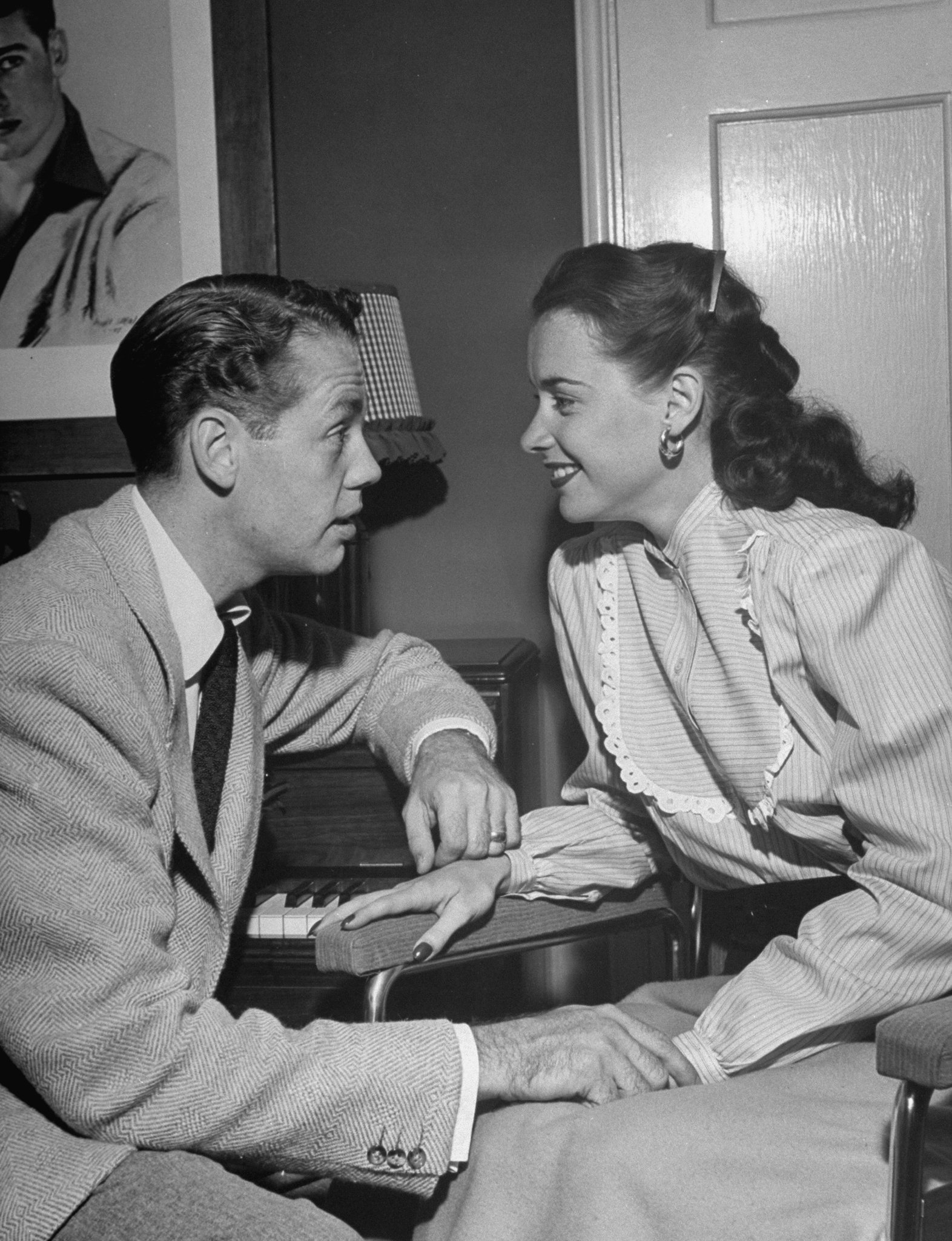 Susan Peters and her husband, Richard Quine.   Photo: Getty Images
