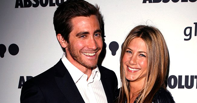 Jake Gyllenhaal and Jennifer Aniston at the18th Annual GLAAD Media Awards at Kodak Theater in Los Angeles, California   Photo: Jeff Vespa/WireImage via Getty Images