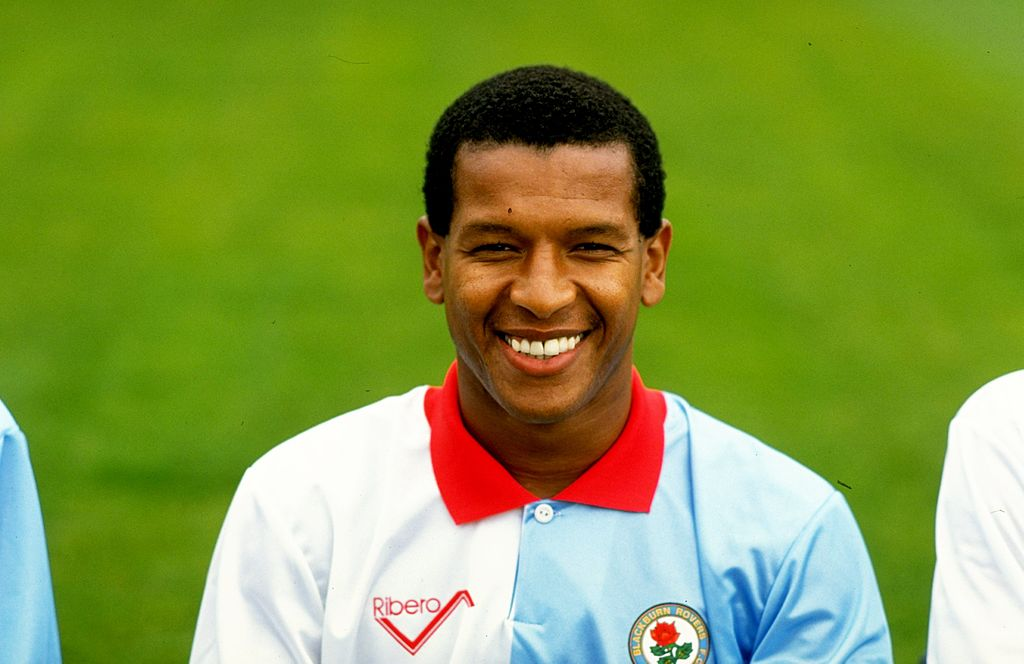 Portrait of Howard Gayle of Blackburn Rovers. | Getty Images