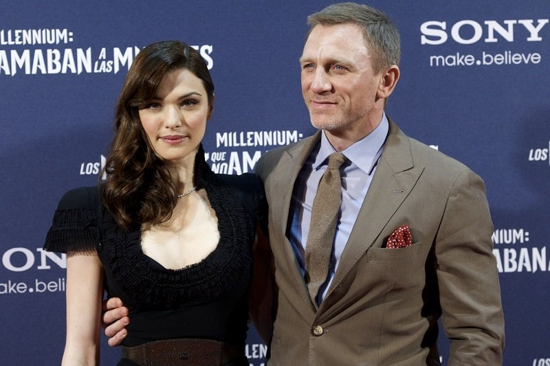 Rachel Weisz and Daniel Craig on January 4, 2012 in Madrid, Spain | Photo: Getty Images
