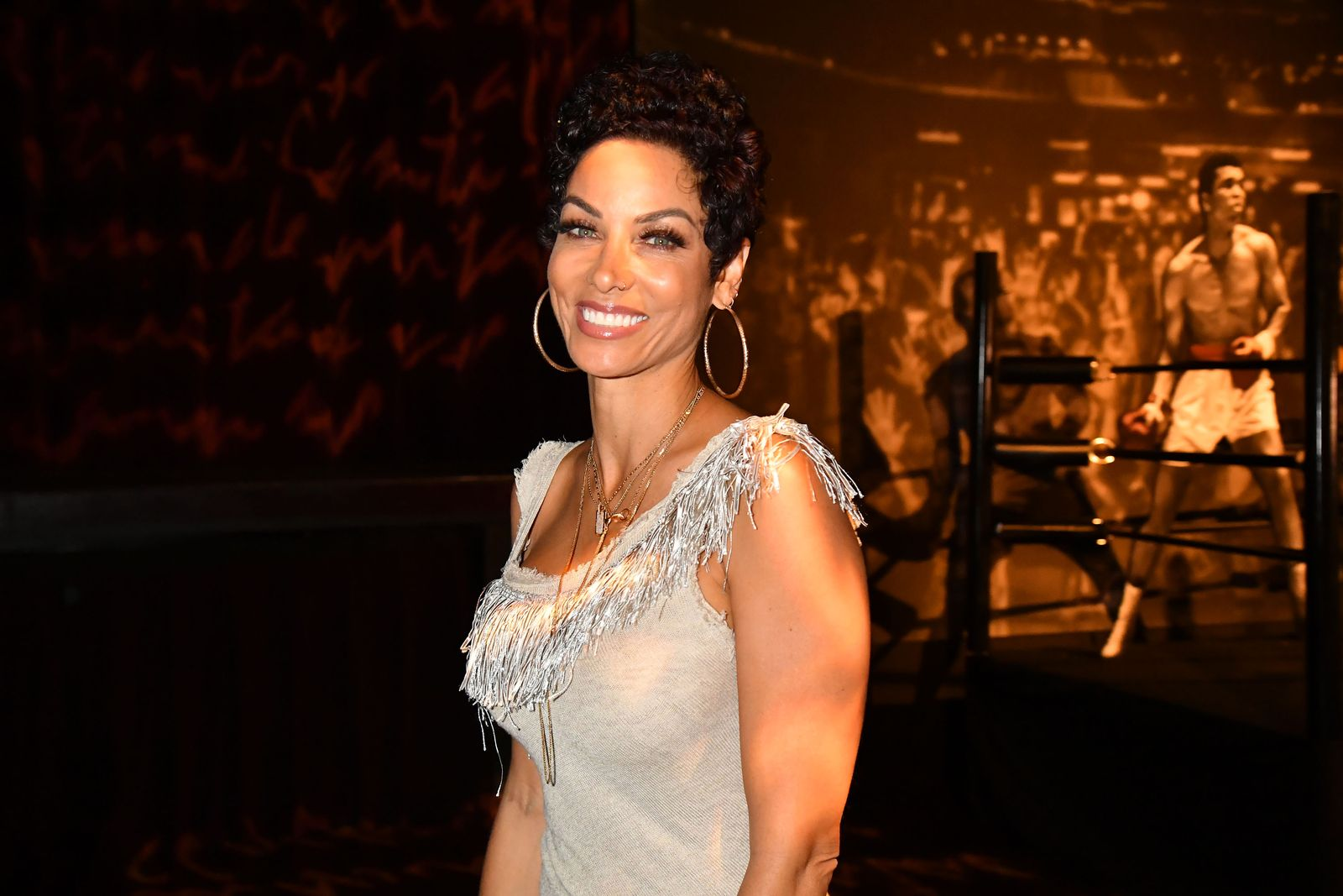 Nicole Murphy spotted at the Muhammad Ali premiere after-party on May 8, 2019. | Photo: Getty Images.