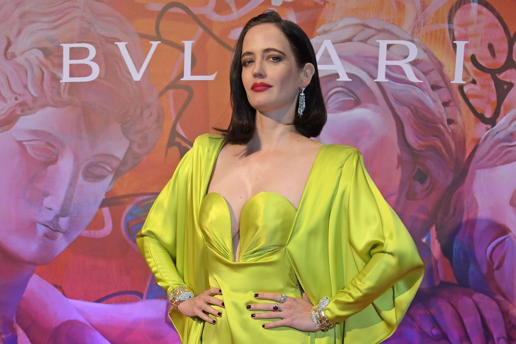 Eva Green at the Bvlgari WILD POP Gala Dinner in 2019 in London, England | Source: Getty Images