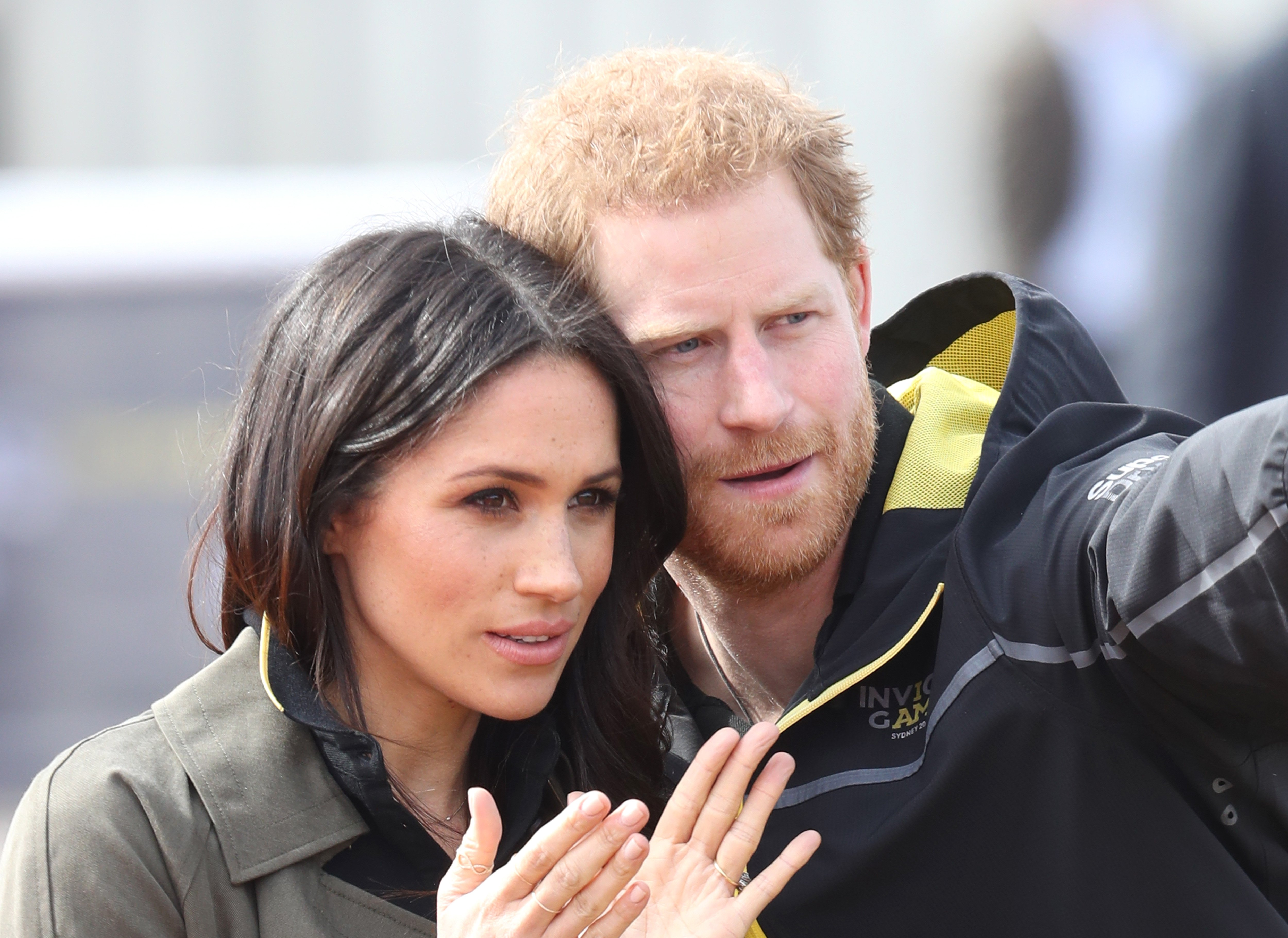 Prince Harry and Meghan Markle attending the UK team trials for The Invictus Games Sydney 2018  in Bath, England. | Photo: Getty Images