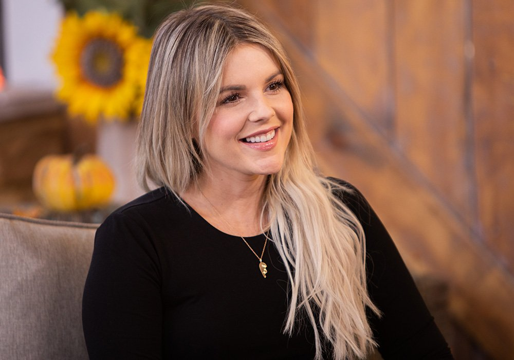 "Ali Fedotowsky on the set of ""Home & Family"" at Universal Studios Hollywood City, California, in October 2020. I Image: Getty Images."