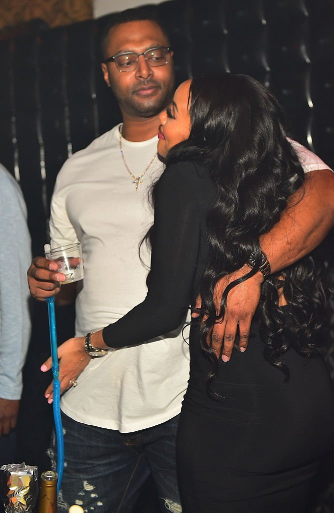 Sutton Tennyson and Angela Simmons attend a Party at Medusa Lounge in 2016 | Photo: Getty Images