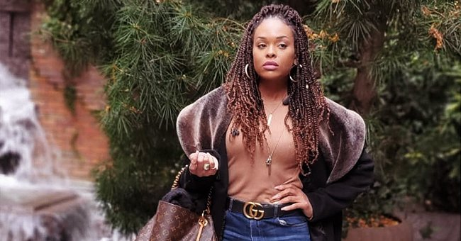 Demetria McKinney of 'House of Payne' Flaunts Legs in Tight Jeans & Thigh-High Boots in New Pic