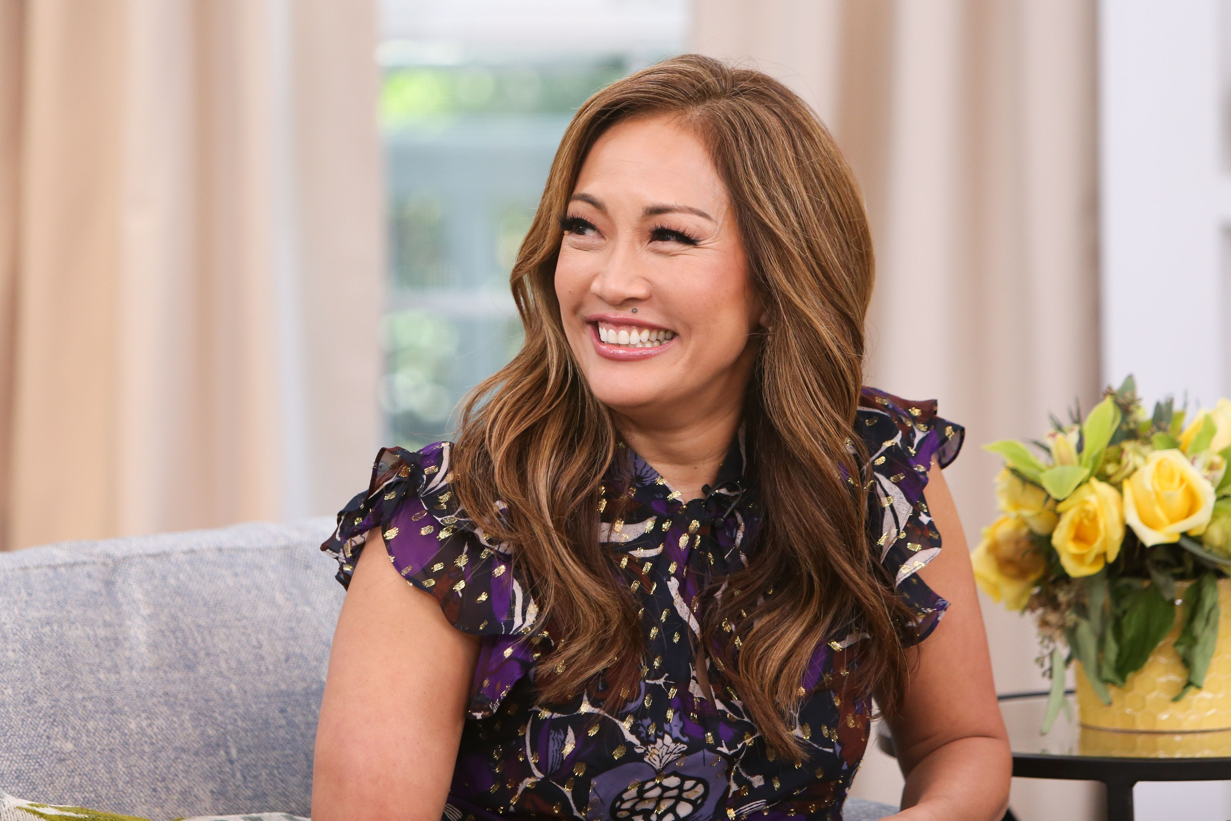 """Carrie Ann Inaba visits Hallmark's """"Home & Family"""" at Universal Studios Hollywood on May 3, 2019 in Universal City, California. 