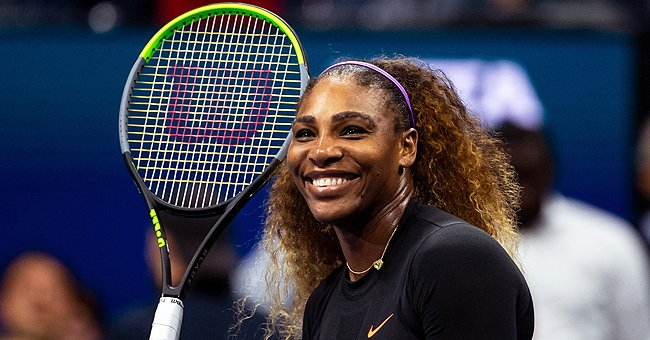 See Serena Williams' Daughter's Beaming Smile & Cute Ponytails Spending Time with Mom in a Car