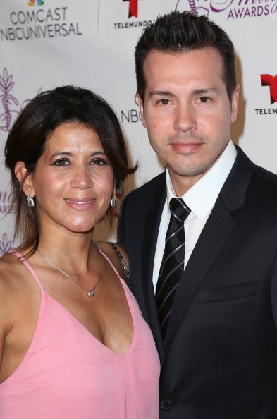Jon Seda and Lisa Gomez at the Beverly Hilton Hotel on August 1, 2014 in Beverly Hills, California. | Photo: Getty Images