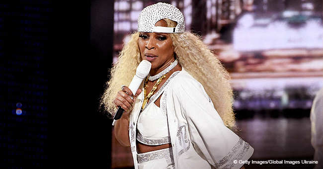 Mary J  Blige Did Her Own Tribute & Took It Back to the '90s