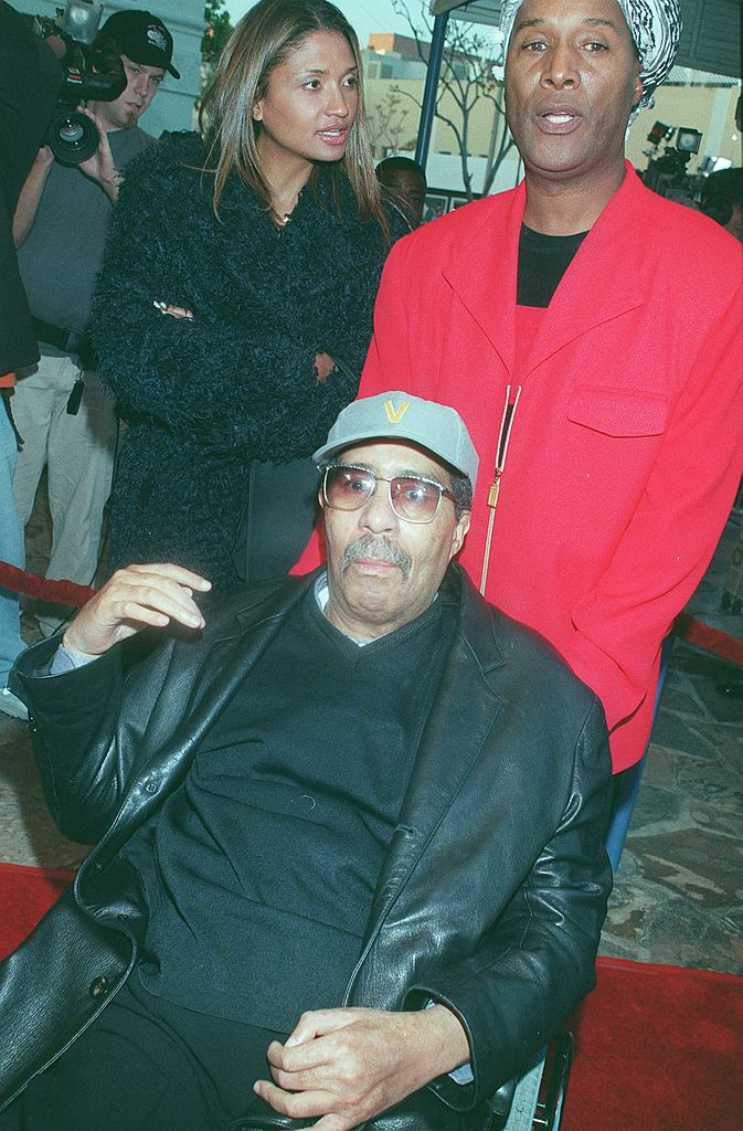 Paul Mooney and Richard Pryor Sr. at a movie screening in West Hollywood back in 1999.   Getty Images