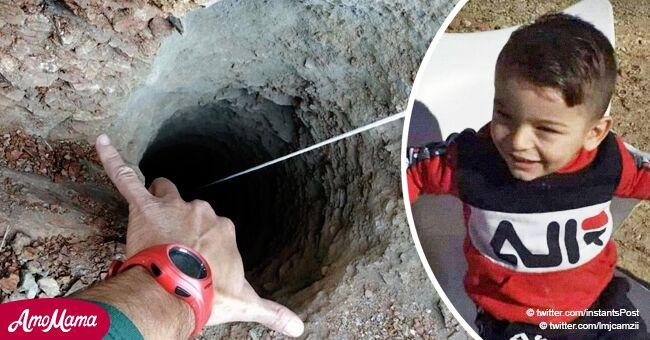 Familiares de Julen contaron cómo cayó el niño en el pozo