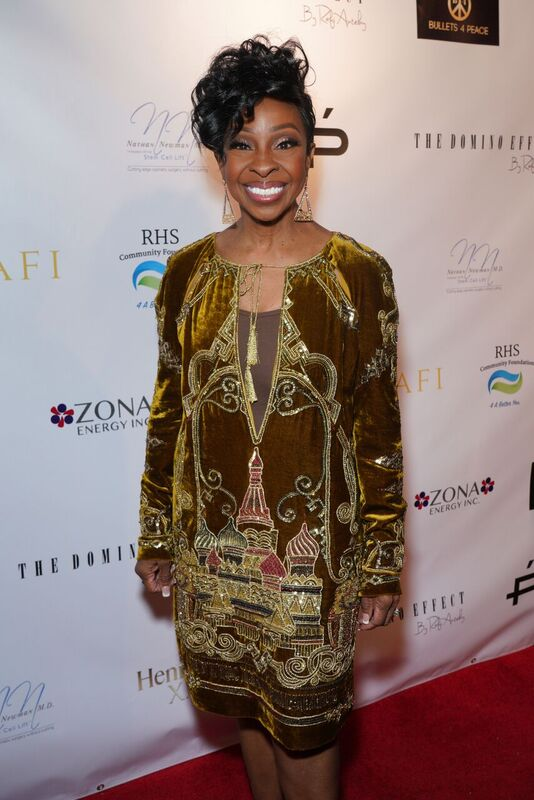 "Gladys Knight at the red carpet of her ""One Knight in October"" Celebration 