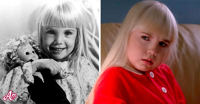 Pictures of Heather O'Rourke | Photo: Getty Images, youtube.com/ScreamFactoryTV