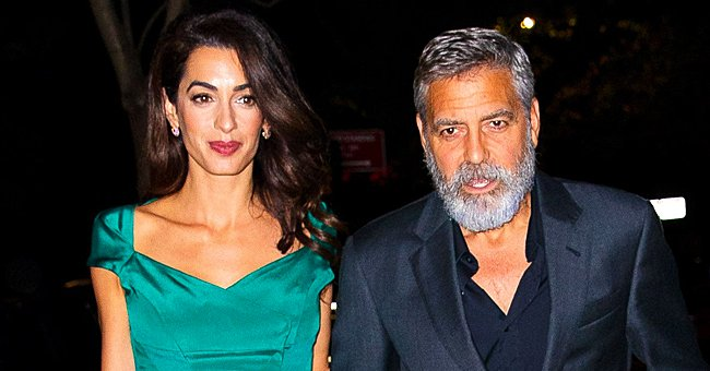 Us Weekly: George Clooney Feels Happy and Blessed to Be With Wife Amal and Their Kids