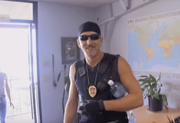 Tim Chapman ready to track down criminals | Source: YouTube/A&E