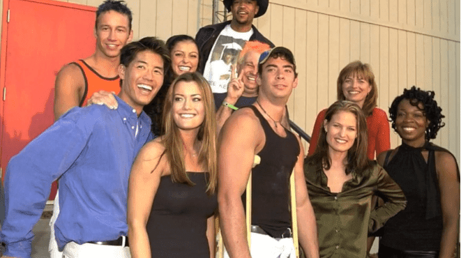 """Cassandra Waldon and the rest of the contestants of the first season of """"Big Brother"""" 