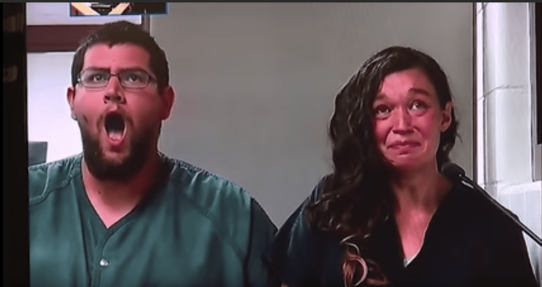 Seth Welch et Tatiana Fusari au tribunal | Photo : mrduckbears33/Youtube