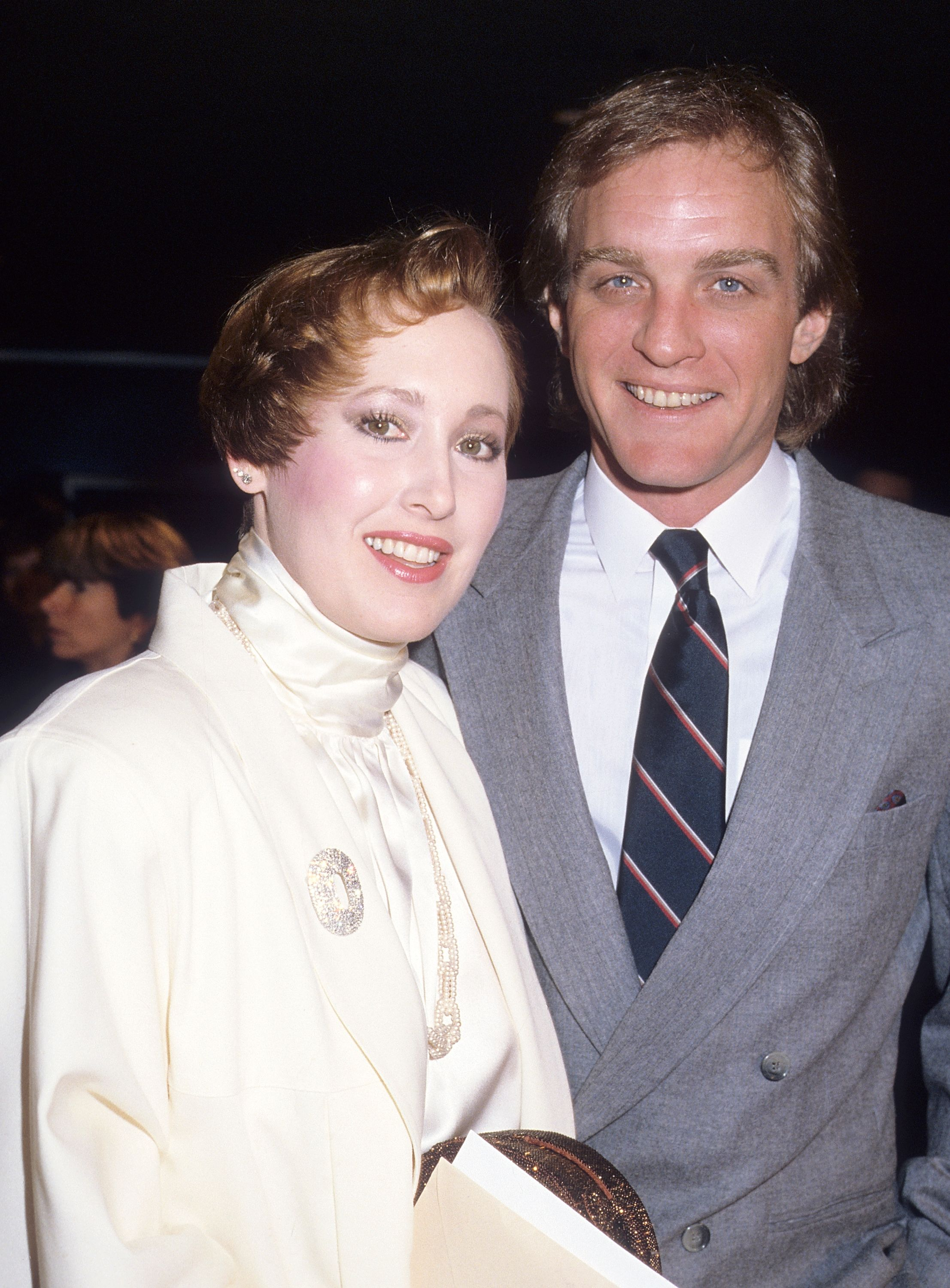 """Terry Lester and Susan Newman during the """"Out of Africa"""" Century City Premiere on December 10, 1985 at Plitt's Century Plaza Theatres in Century City, California. 