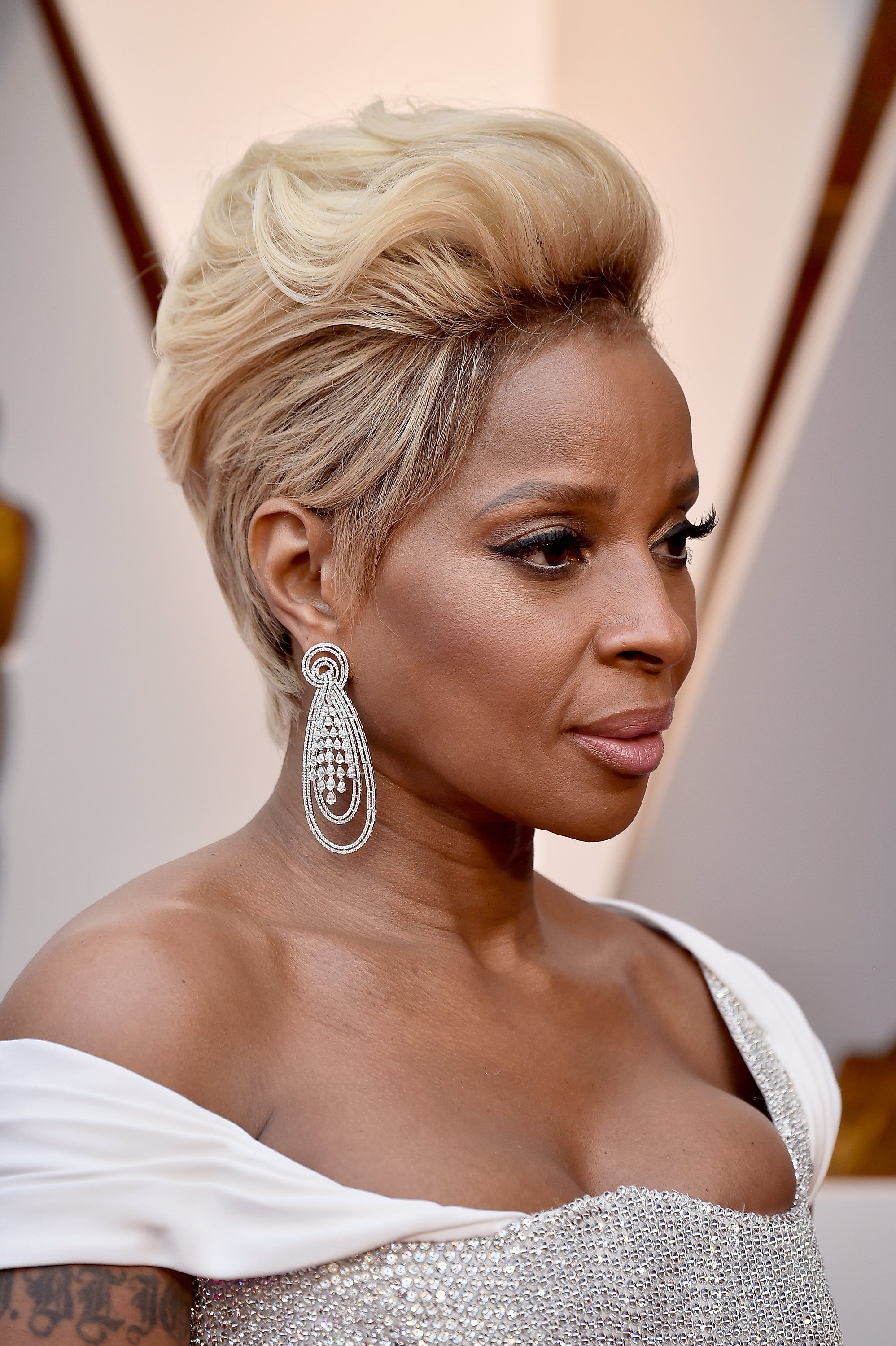 Mary J. Blige attends the 90th Academy Awards in March 2018. | Photo: Getty Images