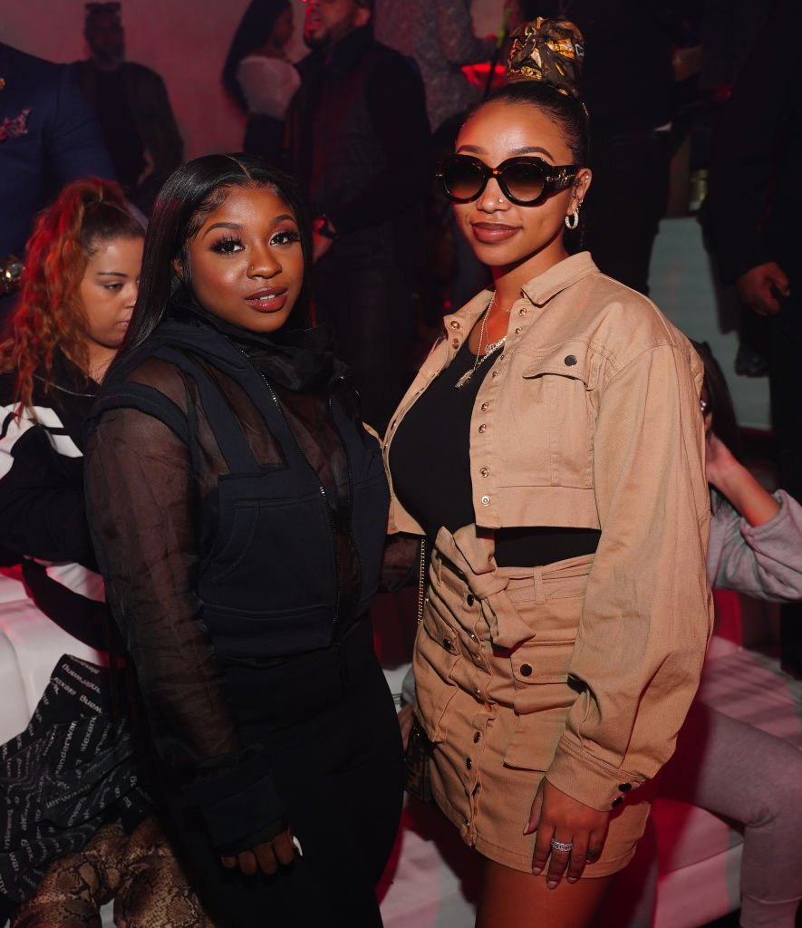 Reginae Carter and Zonnique Pullins attend Republic Friday's The Combs Cartel Invasion at Republic on February 28, 2020 | Photo: Getty Images