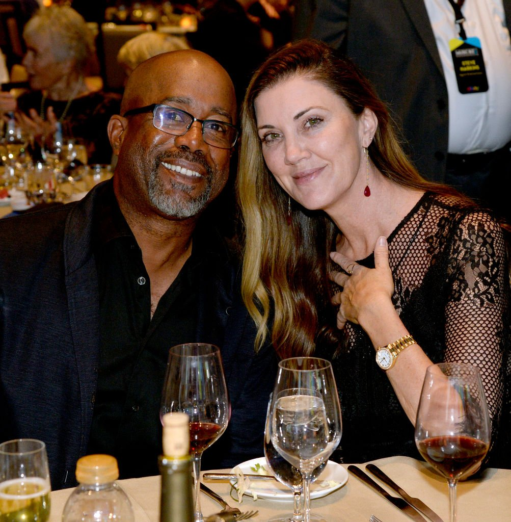 Darius Rucker and Beth Leonard attend the Music Business Association Awards and Hall of Fame Dinner on May 07, 2019 | Photo: Getty Images