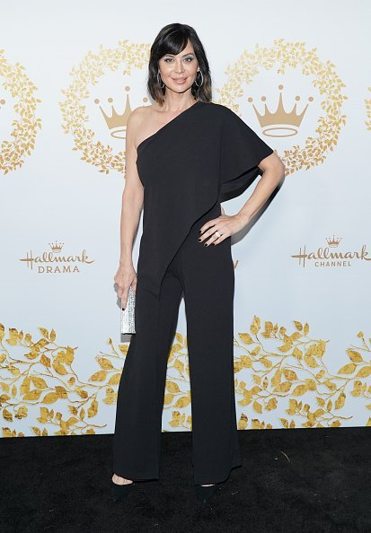 Catherine Bell attends Hallmark Channel And Hallmark Movies And Mysteries 2019 Winter TCA Tour at Tournament House on February 09, 2019, in Pasadena, California. | Source: Getty Images.