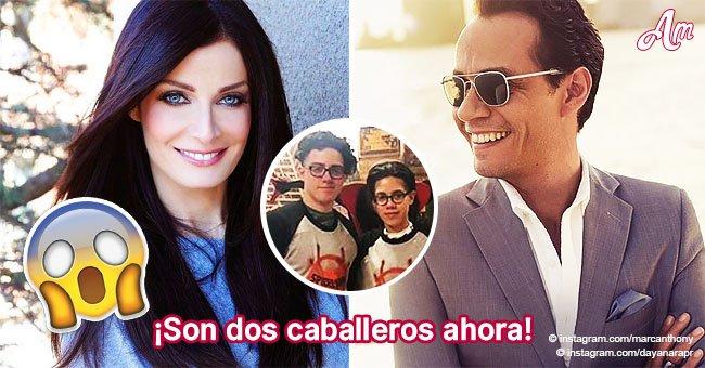 Los hijos de Marc Anthony y Dayanara Torres han crecido increíblemente