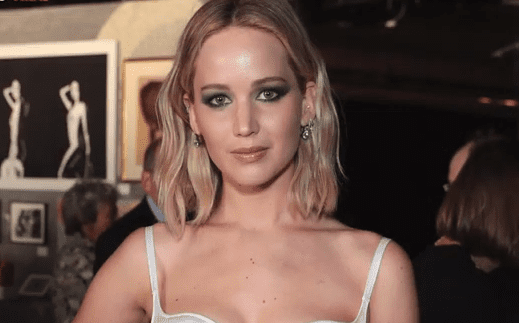 Jennifer Lawrence. | Foto: YouTube / Chico viral