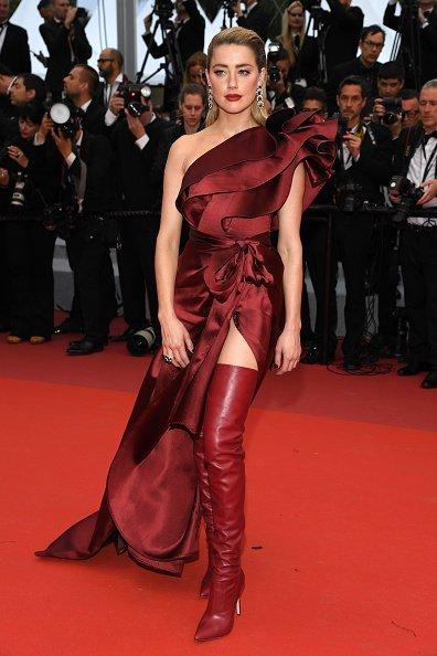 Amber Heard, Cannes, Frankreich, 2019 | Quelle: Getty Images