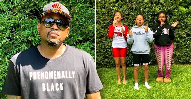 Omar Epps of 'Love & Basketball' Has 2 Grown Daughters Who Look like Dad in a Video