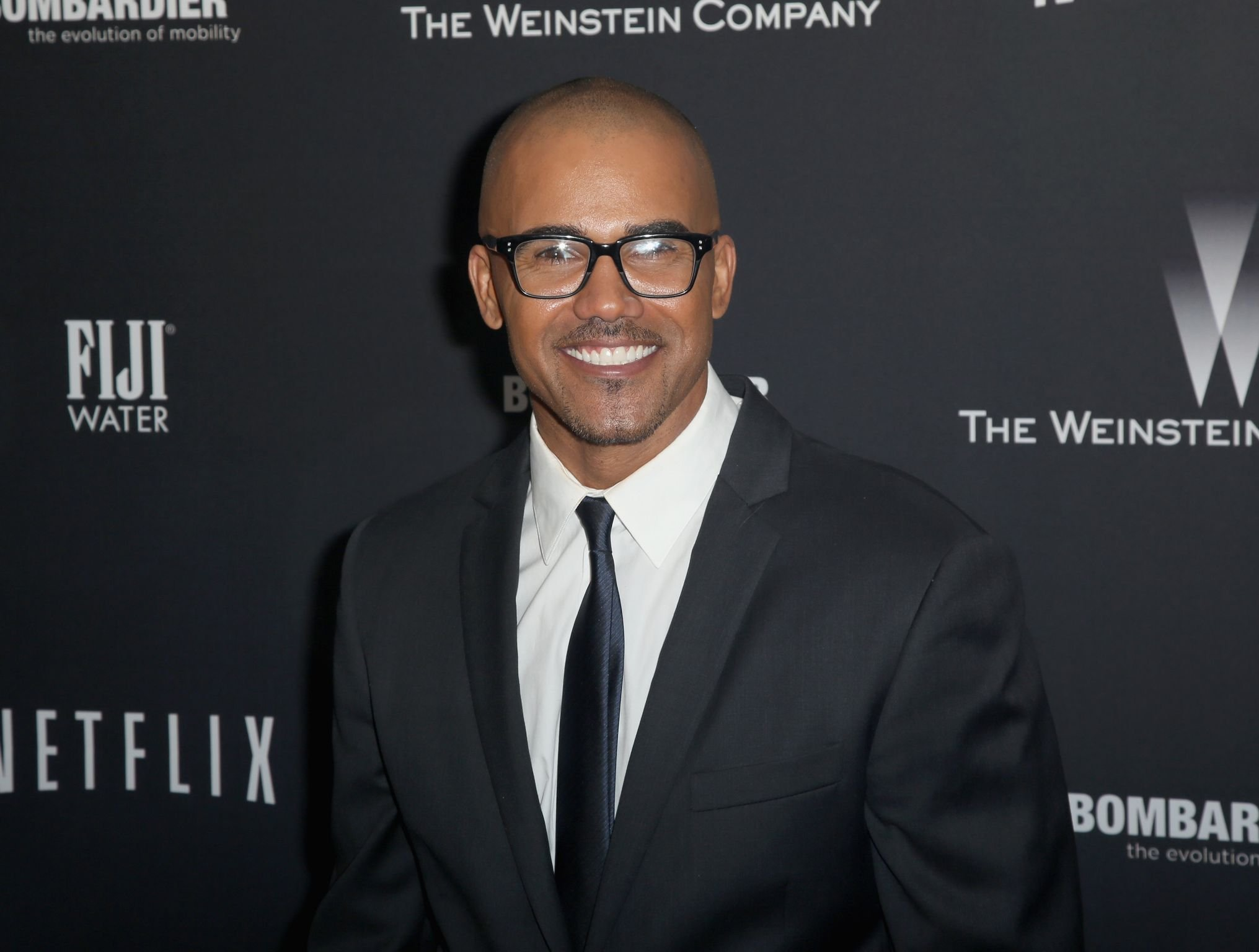 Model Shemar Moore at The Weinstein Company on January 12, 2014 in Beverly Hills. | Photo: Getty Images