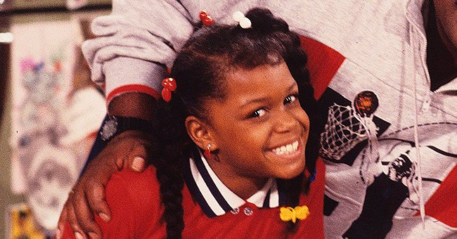 Jaimee Foxworth of 'Family Matters' Looks Unforgettable Rocking a Red One-Sleeve Dress (Photos)